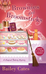 Brownies and Broomsticks: A Magical Bakery Mystery Book Cover