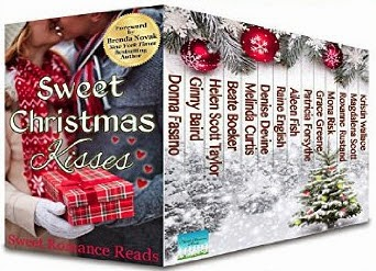 Sweet Christmas Kisses: 14 Sweet Christmas Romances Book Cover