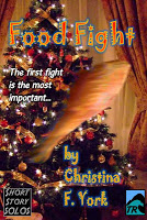 Food Fight: A Holiday Short Story Book Cover