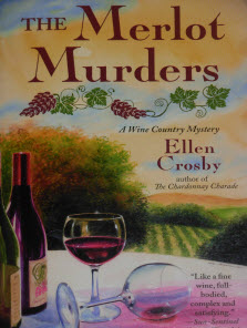 he Merlot Murders...A Wine Country Mystery Book Cover