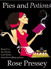 Pies and Potions (Mystic Cafe Series) Book Cover