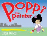 Poppi the Painter Book Cover