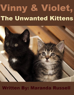 Vinny & Violet, The Unwanted Kittens Book Cover
