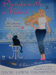 Blond with a Wand Book Cover