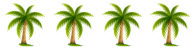 4-palm-trees